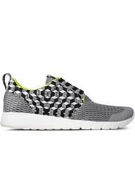 Master Of Arts Grey Green Derby Cubo Running Sneakers