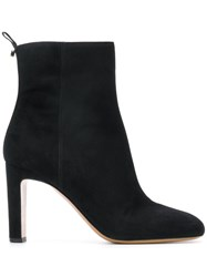 Emporio Armani Heeled Ankle Boots Black