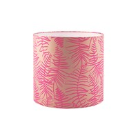 Clarissa Hulse Feather Fern Lampshade Pebble Neon Small