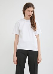 Vetements Fitted Inside Out Tee White