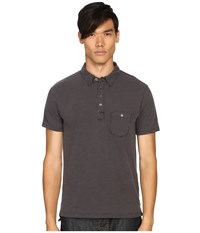 Todd Snyder Weathered Pocket Polo Charcoal