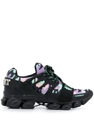 Plein Sport Camouflage Print Low Top Sneakers 60