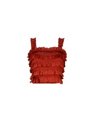 Alaia Tops Red