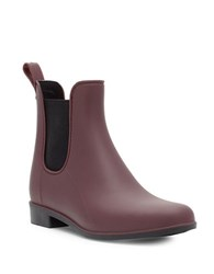 Sam Edelman Tinsley Rubber Ankle Boots Sangria