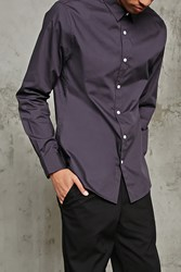 Forever 21 Slim Fit Dress Shirt