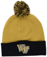 Top Of The World Wake Forest Demon Deacons 2 Tone Pom Knit Hat