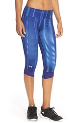 Women's Under Armour 'Fly By' Print Compression Capri