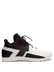 Y 3 Arc Rc Low Top Neoprene Trainers White Multi