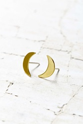 Urban Renewal Natalie Joy Crescent Post Earring Gold