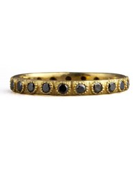 Armenta Pave Black Diamond Ring Old World