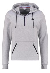 Le Coq Sportif Hoodie Light Heather Grey Mottled Light Grey