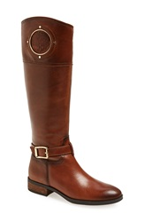 Vince Camuto 'Phillie' Tall Riding Boot Women Rich Cognac Leather