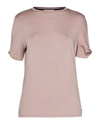 Ted Baker Narva Cbn Jersey Cut Out Sleeve Top Blush