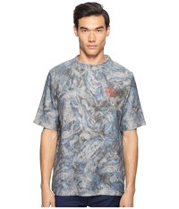 Vivienne Westwood Military Mess T Shirt Blue Print