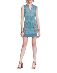 Plenty By Tracy Reese Floral Lace Dress Multicolor