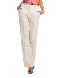Trina Turk Approach Colette Bootcut Pants White