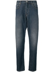 Eleventy Straight Cut Jeans Blue