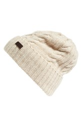 Barbour Women's Lambswool Cable Knit Hat