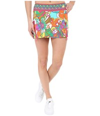 Trina Turk Jungle Flower Tennis Skirt Multi Women's Skirt