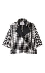 Dorothee Schumacher Cool Check Jacket Plaid