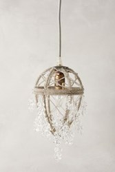 Anthropologie Ethereal Orchard Pendant Clear