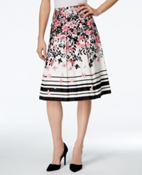 Charter Club Printed A Line Skirt Only At Macy's Cloud Combo