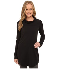 Lole Principle Tunic Black Women's Long Sleeve Pullover