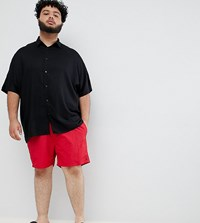 French Connection Plus Swim Shorts Red Marine