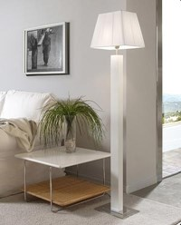 Bover Tau Pie Madera Floor Lamp
