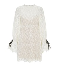 Rachel Gilbert Luella Lace Bell Sleeve Dress Female White