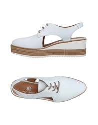 Janet Sport Lace Up Shoes White