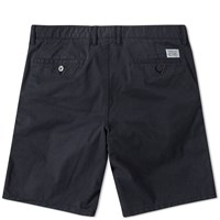 Norse Projects Aros Light Twill Short Black