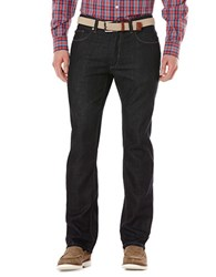 Perry Ellis Dark Indigo Rinse Jeans Blue