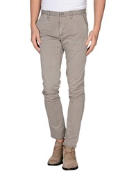 Individual Trousers Casual Trousers Men Light Grey