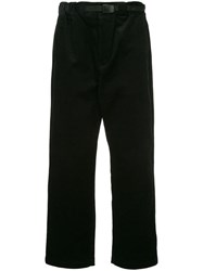 Guild Prime Corduroy Straight Trousers Black