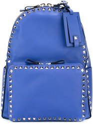 Valentino Garavani 'Rockstud' Backpack Blue