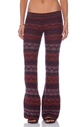Goddis Dallas Bell Bottom Pants Brick