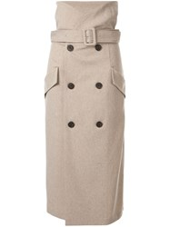 Camilla And Marc Dawn Trench Skirt Grey