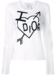 Christian Dior Pre Owned I Love T Shirt 60