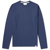 Norse Projects Long Sleeve Niels Standard Tee Blue