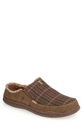 Men's Acorn 'Wearabout' Clog Slipper Bark