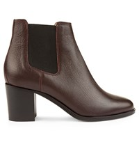 Hobbs Blake Ankle Boot Red
