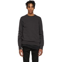 Ksubi Black Whurld Order Sweatshirt
