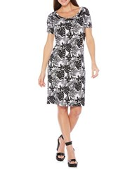 Rafaella Petite Tonal Print T Shirt Dress