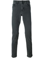 Mcq By Alexander Mcqueen Slim Fit Jeans Grey