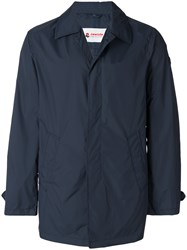 Invicta Button Raincoat Blue