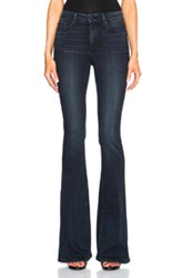 Paige Denim High Rise Bell Canyon In Blue