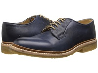 Frye James Crepe Oxford Navy Soft Vintage Leather Men's Lace Up Casual Shoes