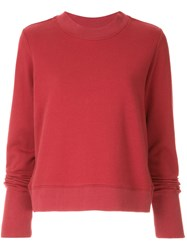 Nobody Denim Favourite Sweat Sweatshirt Red