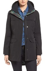 Pendleton Hooded Raincoat Black